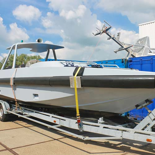 Keep your valuable boat from theft with a MegaHitch Lock