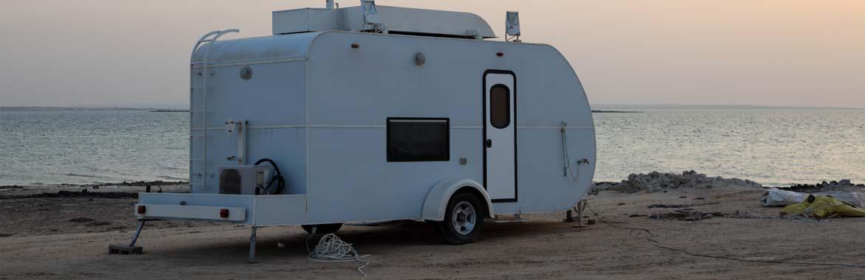 camping trailer lock